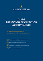 Guide Prestation de captation audiovisuelle